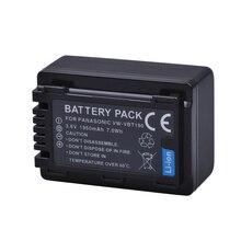 1 Pc 1950 Mah VW-VBT190 Vw VBT190 Li-Ion Batterij Voor Panasonic HC-V110 HC-V130 HC-V160 HC-V180 HC-V201 HC-V210 HC-V230 HC-V250