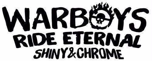 For Ride Eternal sticker VINYL DECAL Mad Max Fury Furiosa War Boys Immortan Joe Nux Various Sizes