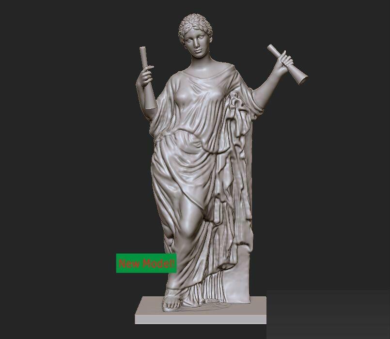 Modelo 3d alívio para cnc em formato de arquivo STL Aphrodite