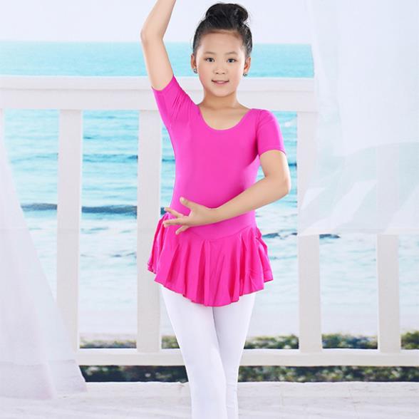 Kid Tutu Leotard Soft Dresses Toddler Girl Dance Ballet Dress Gymnastics 2-14Y Newest