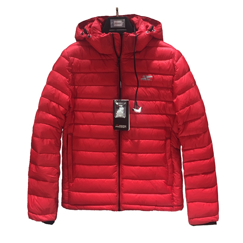 2020 chaqueta de invierno de alta calidad para hombre, Chaqueta de algodón rojo a la moda, chaqueta acolchada, abrigo de invierno para hombre de algodón bio-basado, Abrigo con capucha de marca