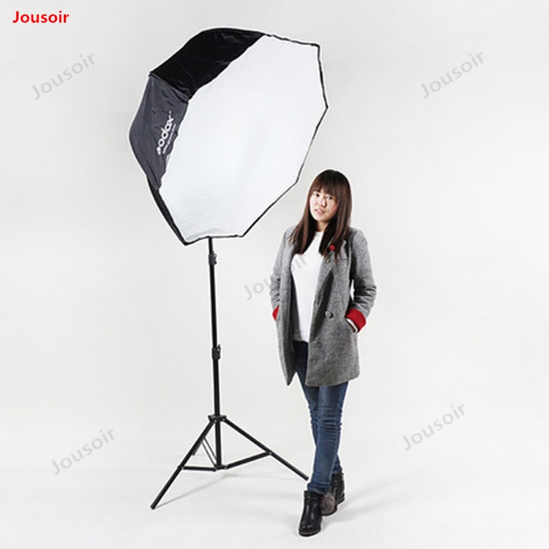 Godox 120cm portátil octagon softbox guarda-chuva brolly refletor para estúdio estroboscópio speedlight flash cd50 t03 lb1