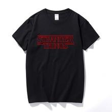 Série télévisée américaine étrange histoire entourant étranger choses à manches courtes coton t-shirt hommes Thriller drôle mignon t-shirts haut décontracté