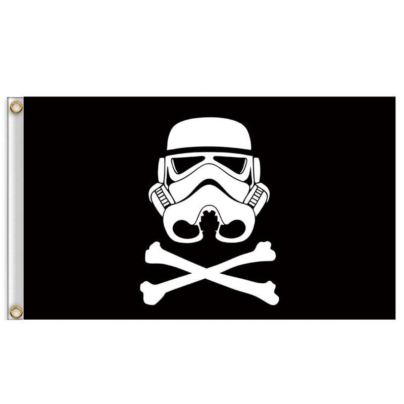 3x5Ft Star Wars House Banner bandera colgante galáctico duradero torneo decoración fiesta en casa Cosplay regalo