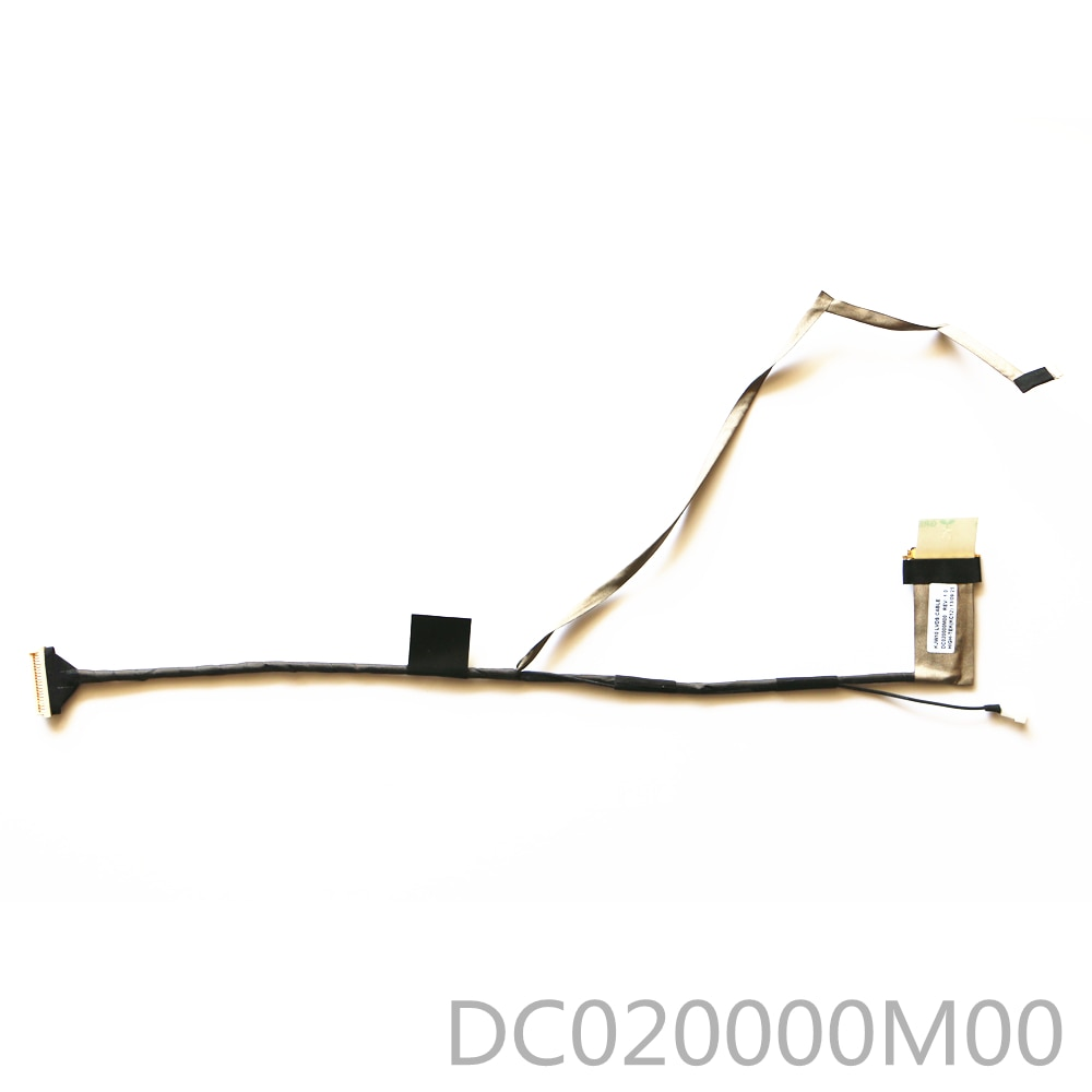 Nuevo KJW10 DC020000M00 LVDS CABLE para HP DV3 DV3-2121TX dv3-2226tx HSTNN-C54C CABLE...
