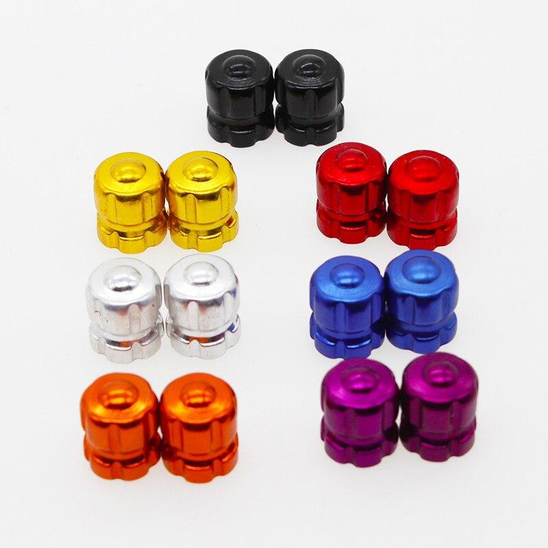 Tapas principales para válvula de neumático de motocicleta, 4 Uds., tapa de vástago de válvula de rueda, tapas antipolvo para Suzuki GSXR 600 750 1000 K1 K2 K3 K4-K9