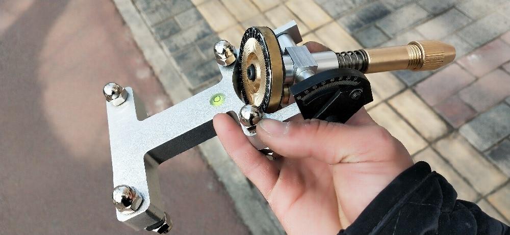 Jade Grinding Faceted Manipulator Gem Faceting Machine Jewel Angle Polisher Fork 96 64 Index Wheels Handle