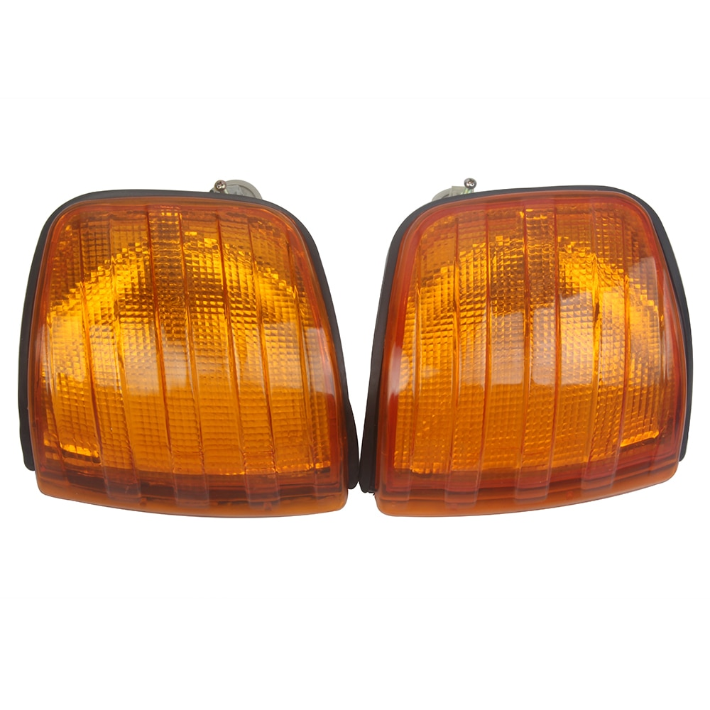Front Corner Lamp Housing Turning Signal Light Cover for Mercedes Benz W126 260SE 280SE 300SE 380SE 420SE 300SEL 500SEL 560SEL