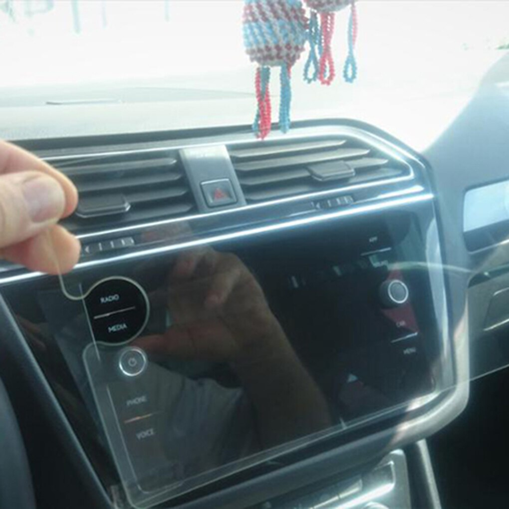 Reemplazo para la película protectora de vidrio templado Protector de pantalla de navegación GPS de coche Tiguan 2018