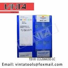 Livraison gratuite de haute qualité 10 pcs/lots YD101 CCGX060202-LC CCGX060202-LH carbure de CNC
