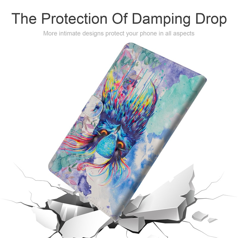 "Купить с кэшбэком Wekays For Samsung Galaxy Tab 3 8.0 Cartoon Cat Leather Cover Case for Samsung Tab 3 8.0"" T310 T311 T315 Case Coque Tablet Cover"