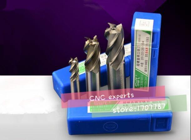 2 шт./компл. 4F-10.5 ~ 14,0 мм HSS & алюминиевая фреза фрезерный станок инструменты Режущий инструмент. Токарный инструмент, фреза