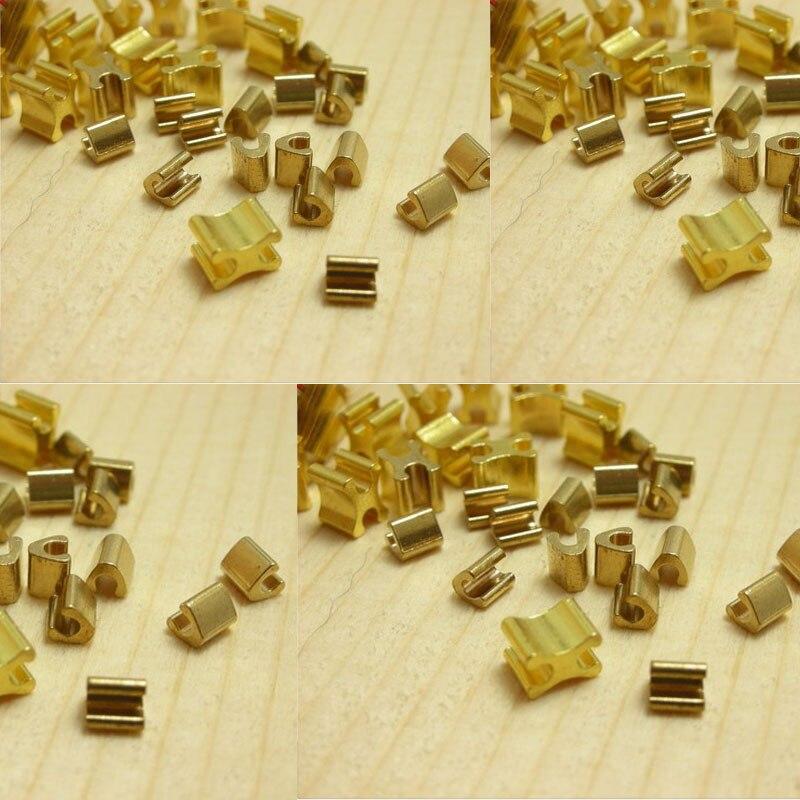 Tope de cremallera dorado 5 # y parte inferior de cremallera hacen de AAA de cobre calidad superior