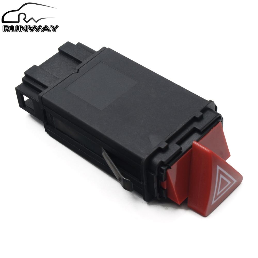 Авто часть Главный светильник опасности переключатель лампы тире кнопка для AUDI A3 A4 B5 A6 C6 Allroad OE: 8D0 941 509 H 8D0 941 509 H