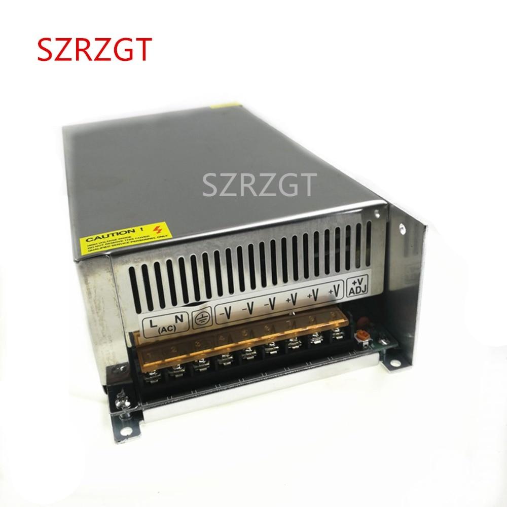 Fonte de alimentação de comutação DC24V 33A 800 W Driver de Led Transformador 220 v 110 v AC Para DC SMPS Fonte 24 V Para A Lâmpada Led 3D Impressora