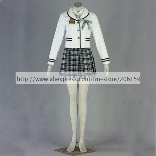 School Uniform Costume -- Top Japanese School Uniform Girls Uniform Dress Cosplay Costume Sale Suit For Halloween Freeshipping