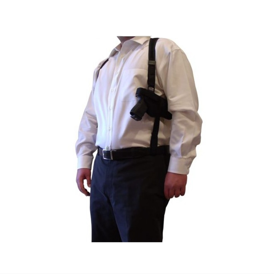 새로운 야외 전술 경찰 보안 범용 왼쪽 오른손 권총 주머니 숄더 건 홀스터 글록 17 19 22 23 31 32