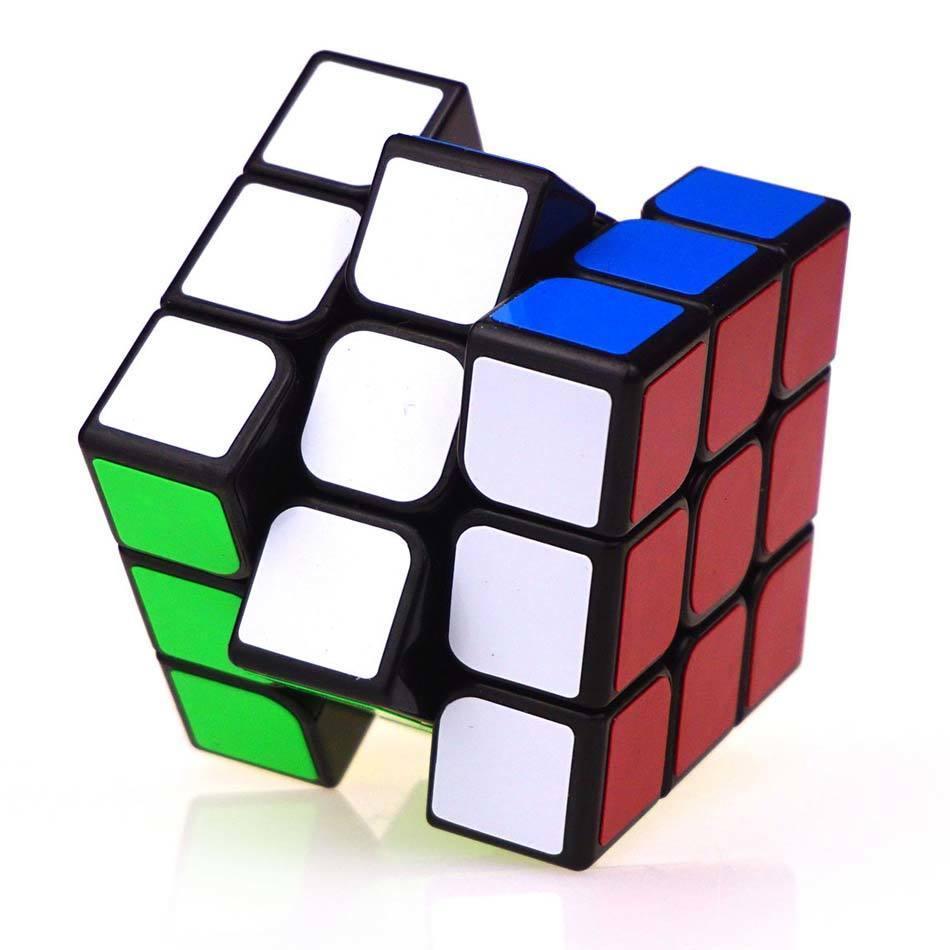 Clásico colorido 3x3x3 tres capas Cubo mágico competencia profesional Cubo sin pegatinas rompecabezas Cubo mágico niño juguete fresco