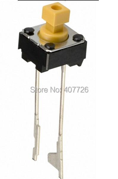 50pcs/lot  Original Button switch 6x6x7mm DIP 2pins Press key button B3F-6502 M