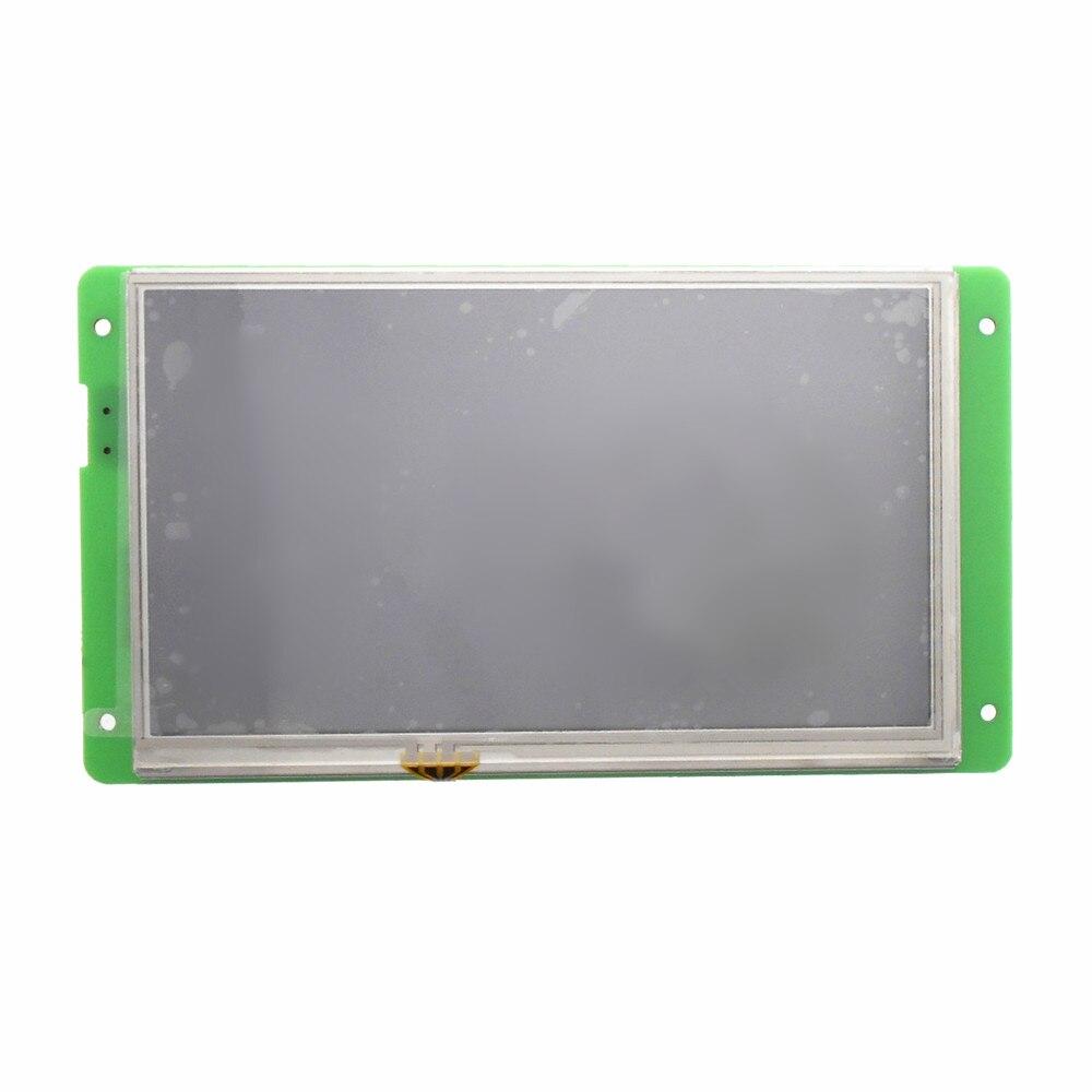 DMT80480L070_02W 7 inch serial screen DGUS rapid development Simple development DMT80480L070_02WT DMT80480L070_02WN