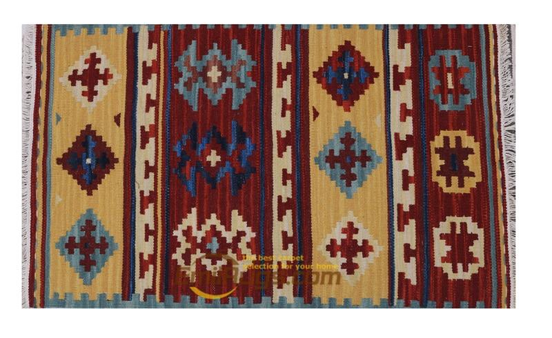 Kilims-سجاد تركي ، صناعة يدوية ، مطبخ ، هندسي ، غرفة نوم ، صوف غنم طبيعي