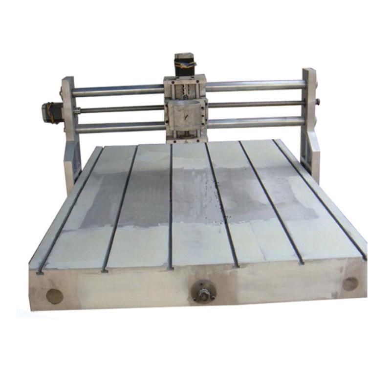 DIY CNC router 6090 grabadora fresadora 600*900mm partes 80mm husillo 2.2KW