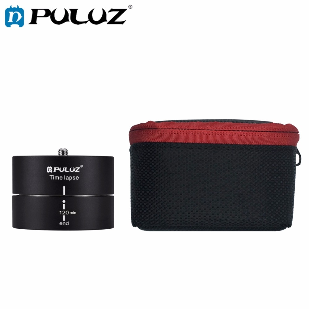 PULUZ камера промежуток времени для GoPro Hero6 360 градусов вращение панорамирования 120 минут смартфонов стабилизатор TimeLapse для Go Pro