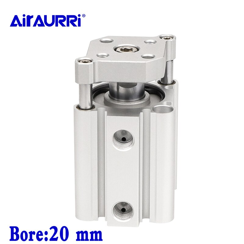 Фото - Smc type air cylinder CQMB bore 20mm Double Acting compact pneumatic rod guide cylinderstroke 5/10/15/20/25/30/35/40/45/50mm air cylinder sda series male thread pneumatic compact airtac type 16 20 25 32 40 50 63mm bore to 5 10 15 20 25 30 35 40 45 50mm