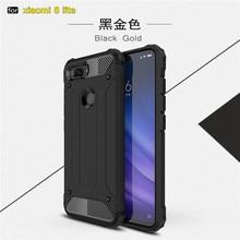 For Xiaomi Mi 8 Lite Anti Shock Impact Hard Armor Case For Xiomi Xiaomi Mi8 Lite Cover Cases