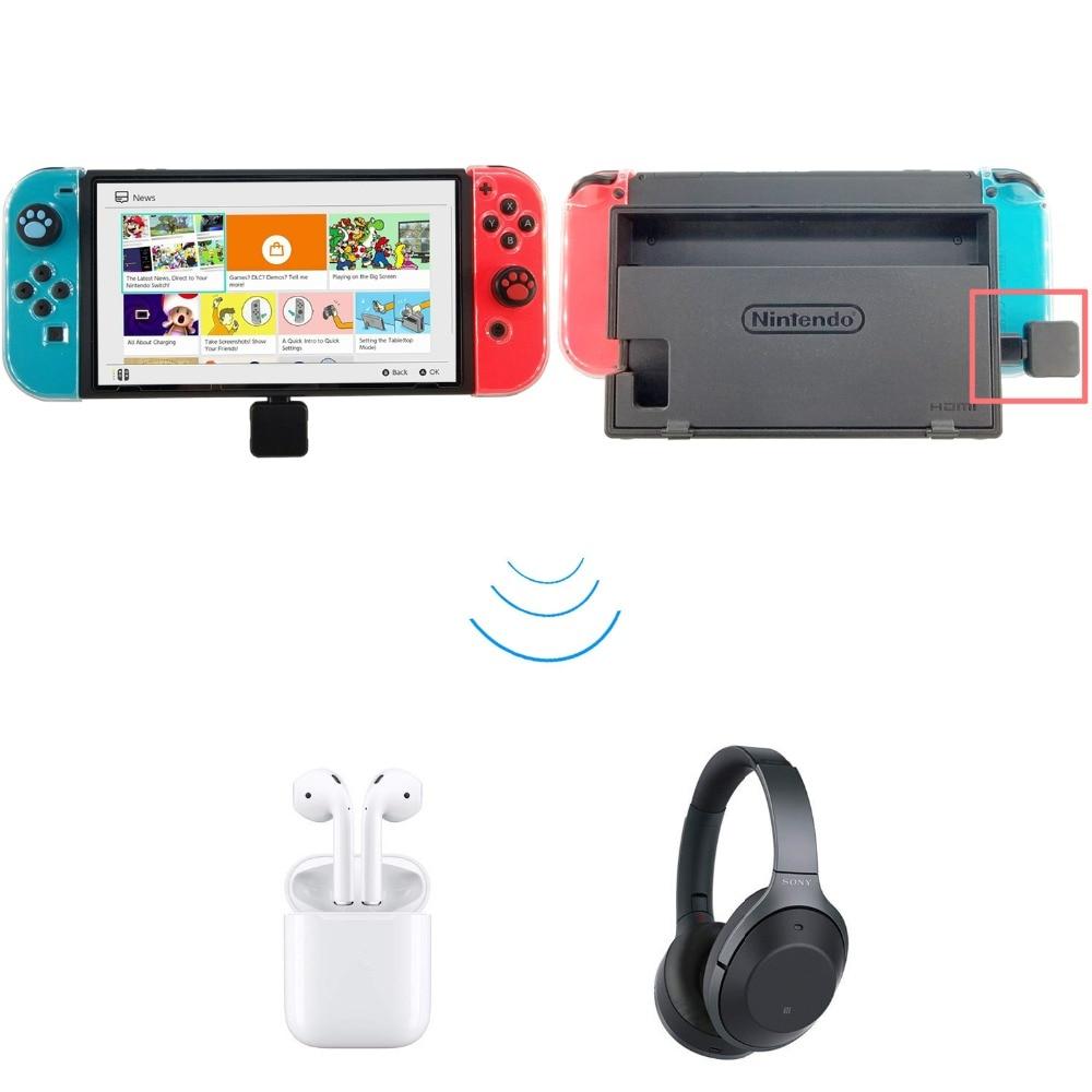 USB tipo C inalámbrico Bluetooth 4,0 adaptador Dongle auriculares transmisor de Audio para interruptor NS Zelda PS4 juguetes electrónicos
