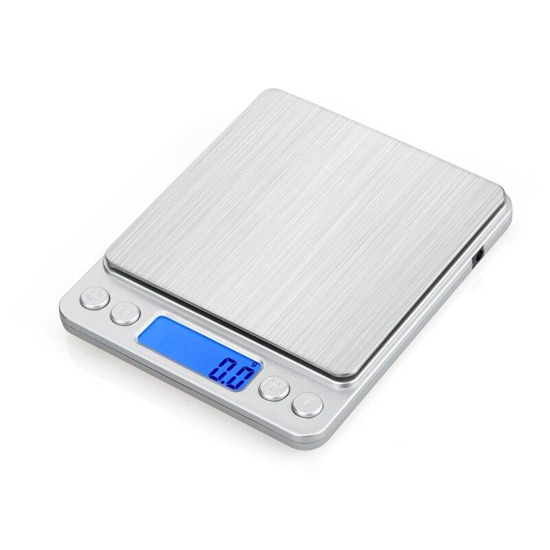 500g 0.01g numérique USB Balance haute précision postale cuisine bijoux alimentaire régime balances or USB puissance Balance 2 plateaux