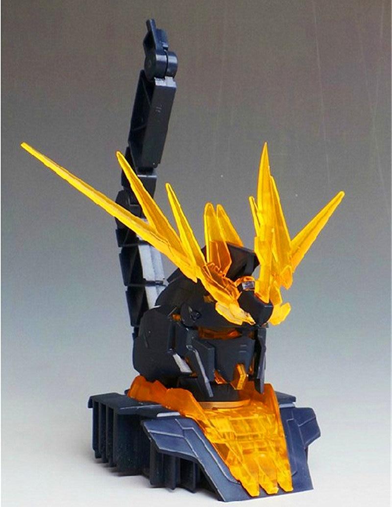 Envío Gratis Daban 1/48 HG RX-0 unicornio 02 Banshee la pantalla Base soporte especial para HG Gundam modelo