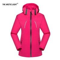 THE ARCTIC LIGHT Outdoors Spring Autumn Men Women Thin Windproof Hiking Jacket Four Seasons Trekking Multi-function Jacket