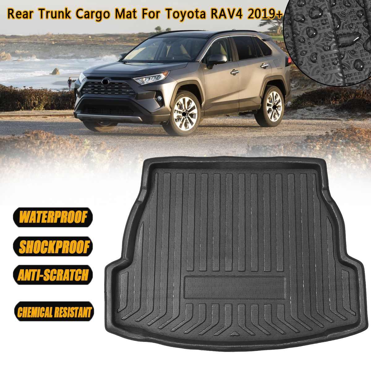 Rear Trunk Tray Cargo Boot Liner Mat Floor Carpet Accessories For Toyota RAV4 2006 2007 2008 2009 2010 2011 2012 2013-2019+