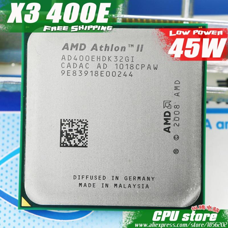 AMD Athlon II  X3 400E CPU Processor Quad-CORE (2.2Ghz/ L2 2M /45W / 2000GHz) Socket am3 am2+ free shipping 938 pin sell X3 405e