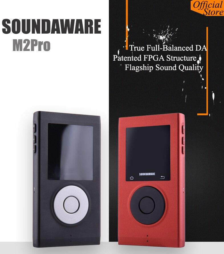 Soundaware M2pro DAP Hallo-res Volle Ausgewogene DSD Tragbare Musik-Player