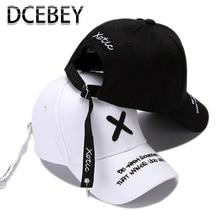 Moda bordado gorra de béisbol para los hombres de verano de algodón negro gorras hueso mujer gorra de béisbol, de hip hop hombre ajustable papá sombreros blanco