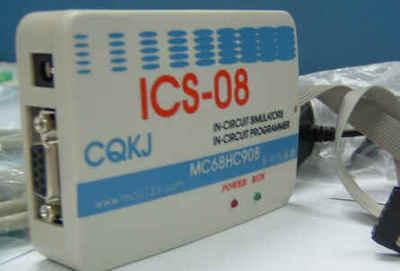 ICS08 FREESCALE(Motolora) ، MC68HC908 مجموعة كاملة من مبرمج محاكاة رقاقة واحدة