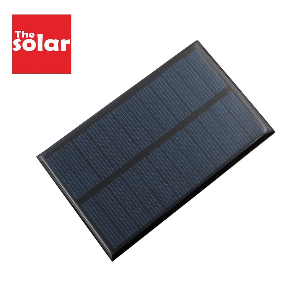 DIY Solar Panel 6 V 1 2 3 5 6 10 W Watt W Portable Battery Cell Phone Led Lamp Mobile Phone Power bank Chargers Solar Cell 6VDC