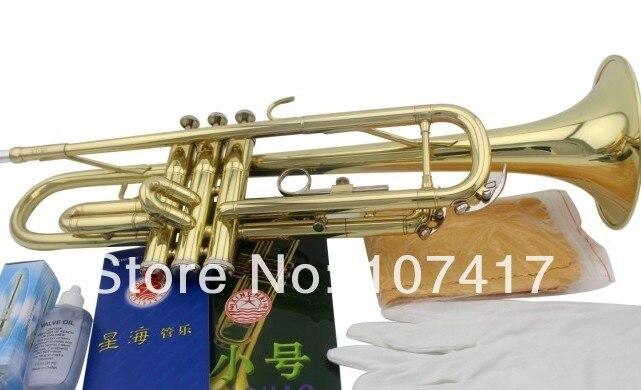 Musical de Bronze Profissional de Alta Livre Bach Sênior Prata Chapeado Trompete Lt180s-43 Pequeno Instrumento Trompeta Qualidade. 2022