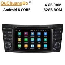 Ouchuangbo-autoradio pour Mercedes Benz E   W211 CLK W209 CLS W219, avec PX5, android 9.0, gps, navigation, dvd radio 8 core, 4 go + 64 go