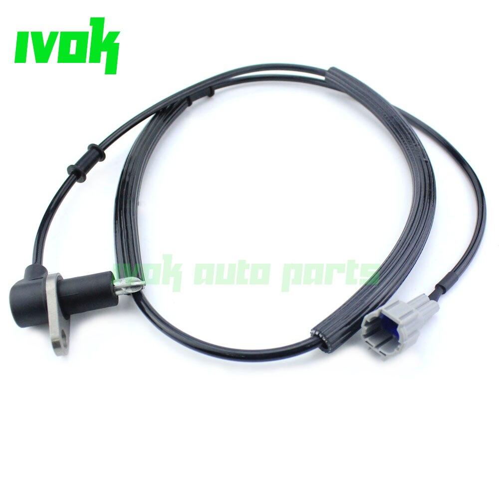 Sensor de velocidad de rueda delantera de ABS derecho para Nissan Navara...