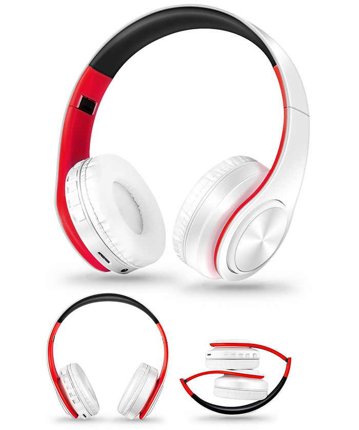 Słuchawki Bluetooth Headset słuchawki Bezprzewodowe Słuchawki Stereo Składany Sport Słuchawki Mikrofon słuchawki Tryb Głośnomówiący odtwarzacz MP3 12