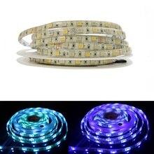 DC12V 5M SMD 5050 LED bande lumineuse RGBW RGBWW étanche IP65 60 LED s/M 300 LED S bande Flexible utilisation extérieure pour la décoration de la maison