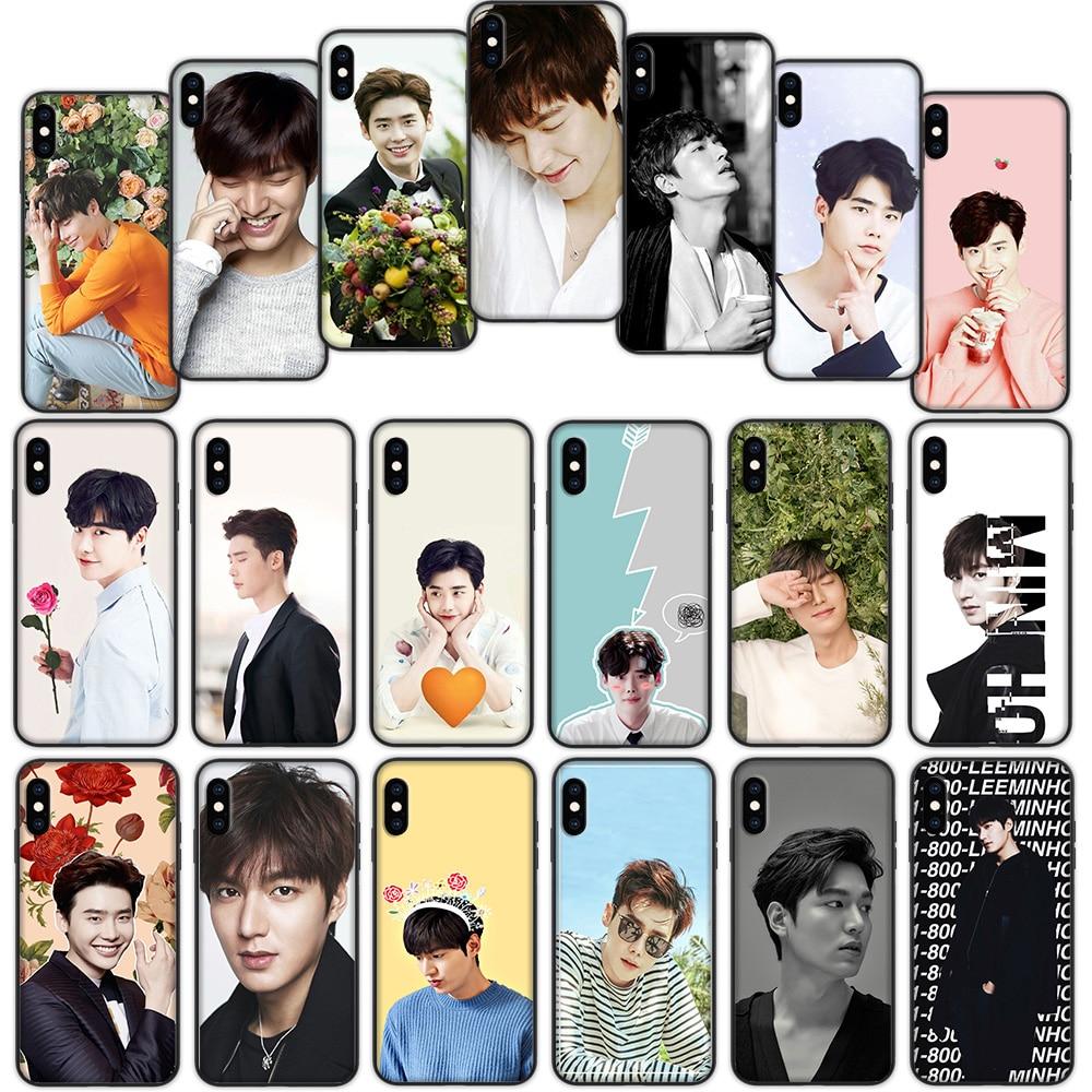 Lee Jong Suk Min Ho Weichen Abdeckung Fall für iPhone XS 11 Pro Max XR X 7 8 6 6S Plus