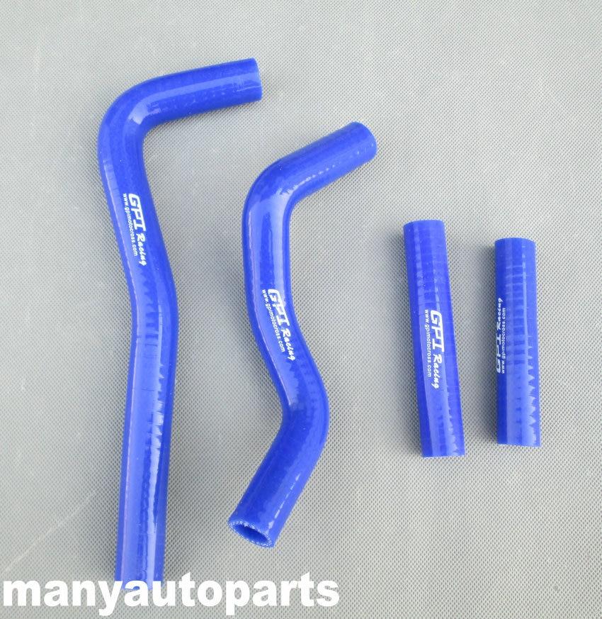 Tuyau de radiateur en silicone pour Honda   Bleu, CRF 150 R CRF150R 2007-2009 2008 07 08 09