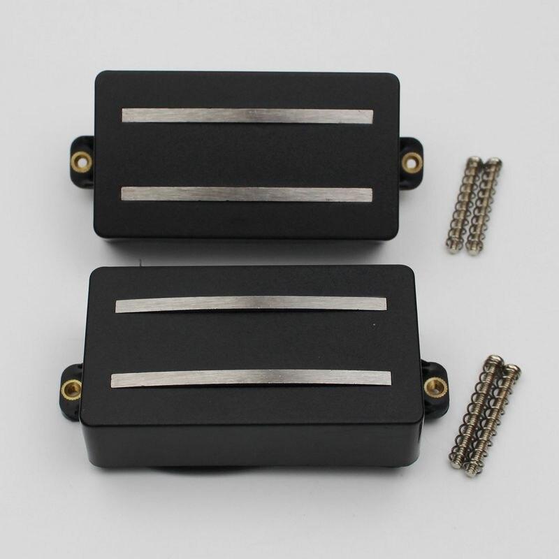 Peças de reposição para guitarra elétrica, conjunto de peças de reposição com bobina alnico rails (gdr black))