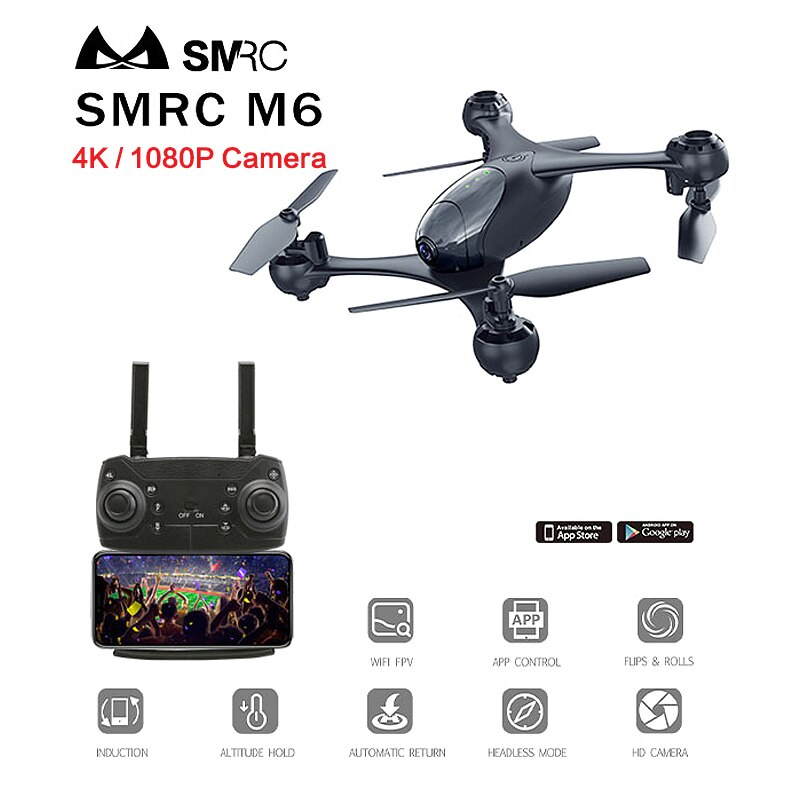 Drone 4k Quadrocopter Follow Me Drones with Camera HD 4K Dual Camera Fpv Racing Dron Profissional RC Quadcopter With Camera enlarge