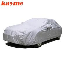 Kayme-bâches de voiture complètes   Anti-poussière, Protection solaire UV et intérieure, Protection solaire, couverture en polyester universelle pour Suv Toyota BMW vw