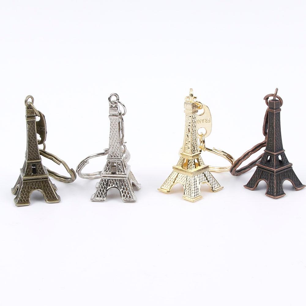 Torre llavero de Torre Eiffel para souvenir para llave, Paris Tour Eiffel llavero Decoración Para llavero
